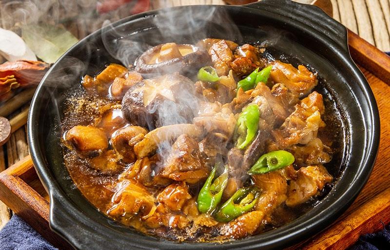 广东砂锅黄焖鸡